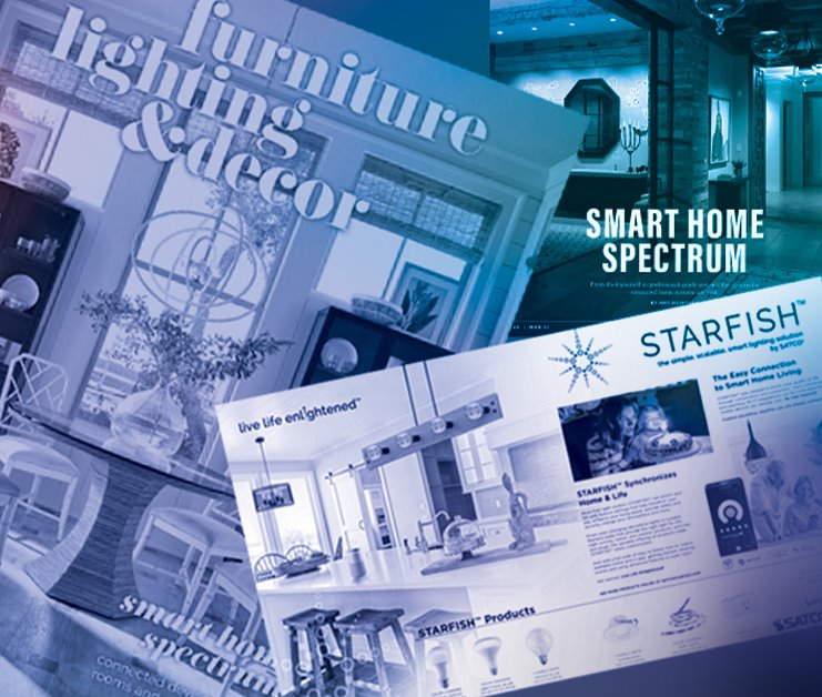 STARFISH Featured in Furniture Lighting & Decor