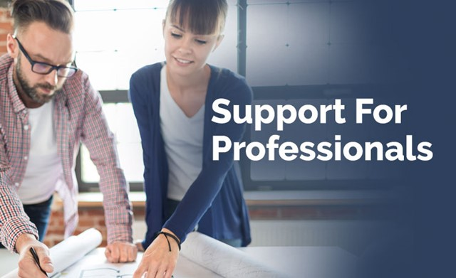 Support for Professionals